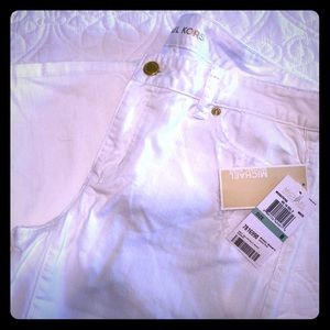 NWT MICHAEL Michael Kors Cropped Skinny Jeans